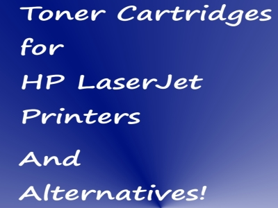 Best Toner Cartridges for HP LaserJet Printers