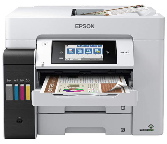 Epson EcoTank Pro ET-5800-ET-5850-ET-5880-ET-16600-ET-16650 All-in-One Wireless Printers