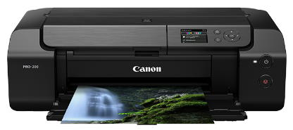 Canon PIXMA PRO-200 Wireless Inkjet Photo Printer